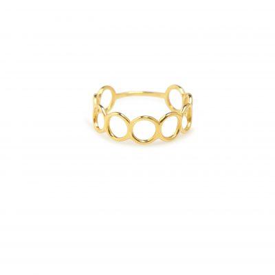 Sweebie -  - Χρυσό δαχτυλίδι με ενωμένα κυκλάκια που συμβολίζουν την εξέλιξη και την αλλαγή! Θα το λατρέψετε!  Υλικό: Χρυσό 14κ