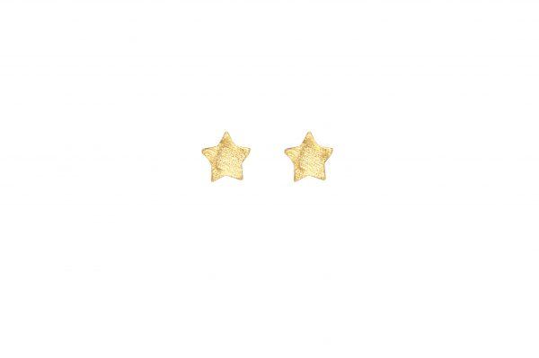 Tiny Stars -  - Χρυσά σκουλαρίκια αστεράκια. Μικρά και ραφινάτα που μπορούν να σας συνοδεύουν σε κάθε περίσταση και όλες τις ώρες της ημέρας!  Υλικό: Χρυσό 14κ