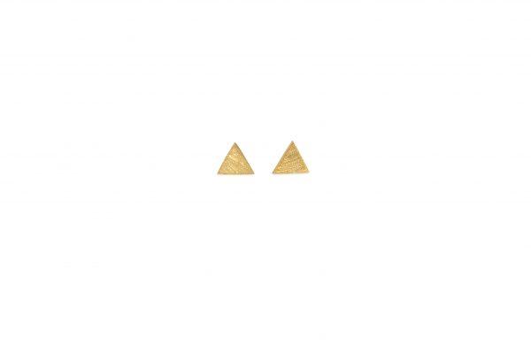 Triangle -  - Χρυσά σκουλαρίκια τργωνάκια 14κ. Λιτά και κομψά σε απολύτα γεωμετρικές γραμμές. Ένα κόσμημα που παραμένει διαχρονικό και μπορεί να φορεθεί ανά πάσα στιγμή! Υλικό: Χρυσό 14κ