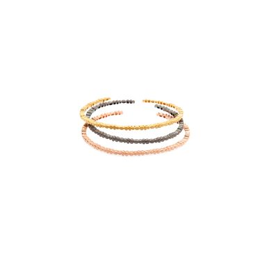 Lava bracelets -  - Beautiful and easy to wear bracelets you are going to love! They are very easy to combine with anything else you wish to wear on your hand. We recommend you combining two lava bracelets for an even more stylish look!  Material: Silver 925 (gold-plated, oxidized or pink-gold-plated) Pick among: gold-plated, oxidized, pink gold
