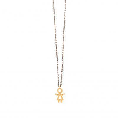Girl necklace -  -