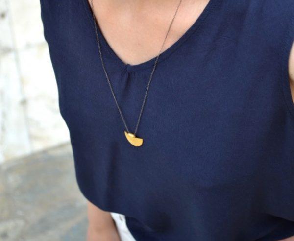 Seashell necklace -  -
