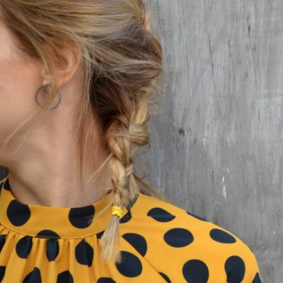 "Circle me Earrings -  - <div> <div dir=""ltr""> <div dir=""ltr""> <div dir=""ltr""> <div dir=""ltr"">Impressive circular hoop earrings. The ""Circle Me"" earrings stand out for their originality and versatility. You can wear them in their minimal form, by putting on only the two small circles. Easy-to-wear everyday earring that will easily elevate your looks. You can pick between the oxydized silver or the gold-plated silver ones.</div> </div> </div> </div> </div>"