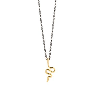 Snake necklace -  -