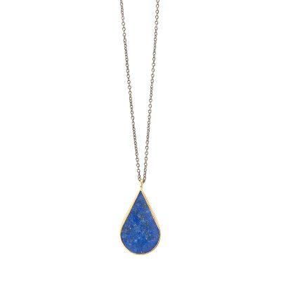 Deep Blue necklace -  -
