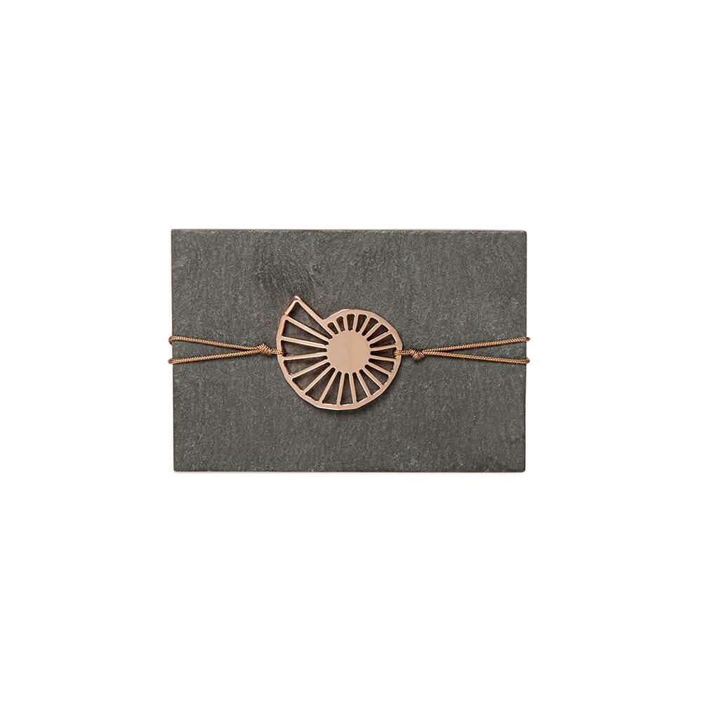 Lucky Charm Bracelet «Speira» Pink Gold -  -
