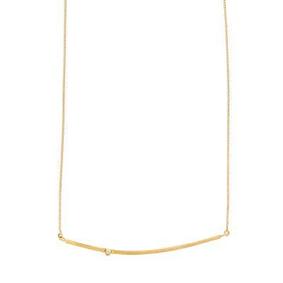 Cinnamon Necklace -  - Ιδιαίτερα κομψά, λιτά και αέρινα κοσμήματα σε συνδυασμό από πολύτιμες πέτρες μπριγιάν αποπνέονταςτην αίσθηση απαράμιλλης ομορφιάς και σύγχρονης πολυτέλειας.