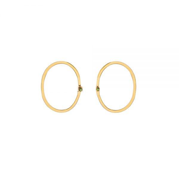 Cupcake Earrings -  - Ιδιαίτερα κομψά, λιτά και αέρινα κοσμήματα σε συνδυασμό από πολύτιμες πέτρες μπριγιάν αποπνέονταςτην αίσθηση απαράμιλλης ομορφιάς και σύγχρονης πολυτέλειας.