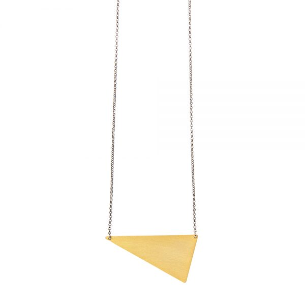 Dalton Necklace Small -  - Μακρύ κολιέ με απόλυτα γεωμετρικό ασημένιο 925 επιχρυσωμένο σχέδιο όπως μάς έχει συνηθίσει η Μάγια να αγαπάμε. Λιτό, ξεχωριστό και ευκολοφόρετο αφού μπορείς να το συνδυάσεις με κολιέ όπως τα geometry ή το sailormoon από τη συλλογή μας.  Yλικό: Ασήμι 925 επιχρυσωμένο