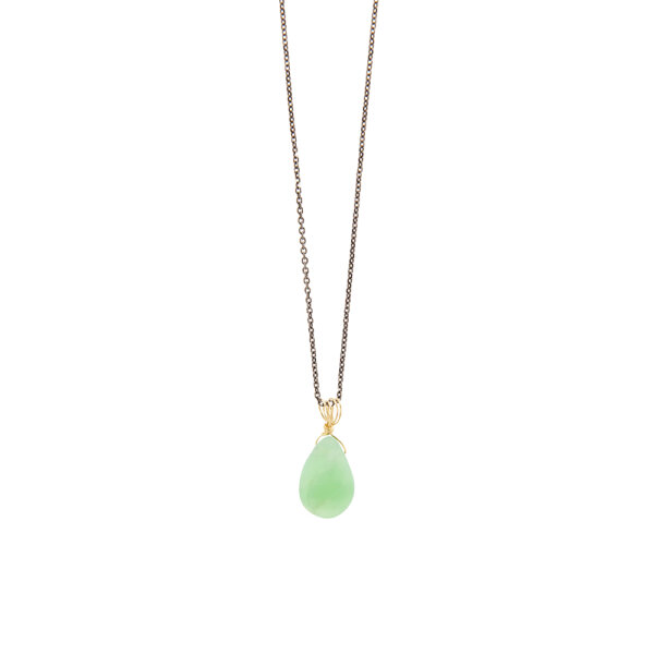 Chrysoprase  Necklace -  -