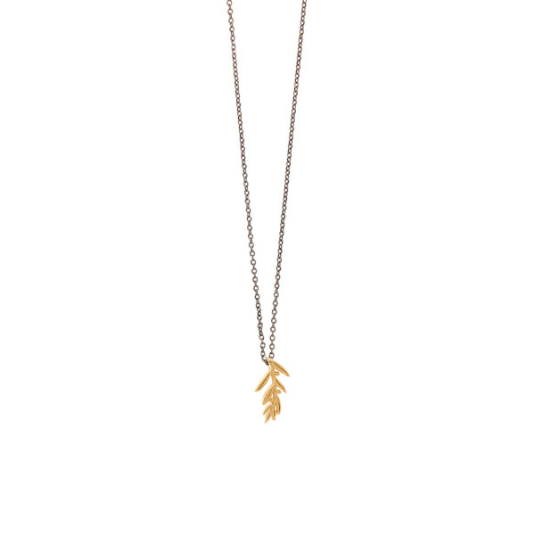 Leafy Necklace -  -