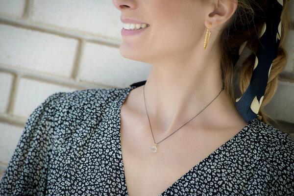 Amethyst Necklace -  -