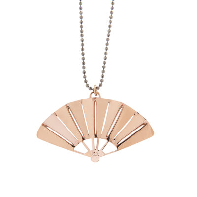 Ventalia Necklace Pink Gold -  -