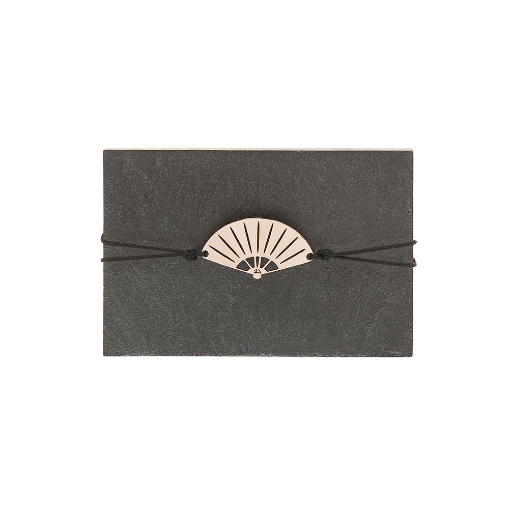 """Lucky Charm 2021 Bracelet Pink Gold """"Ventalia"""" -  -"""