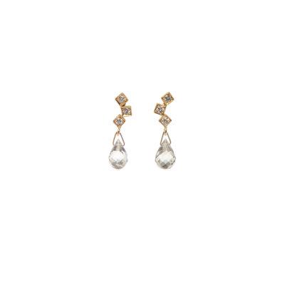 Light My Sapphire Earrings -  -