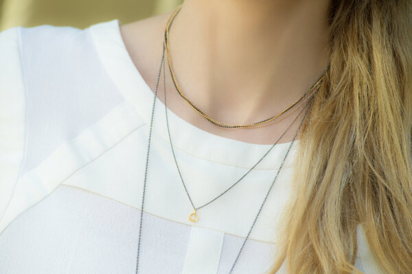 Lucky You Necklace -  -