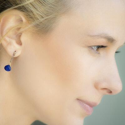 Royal Blue Earrings -  -
