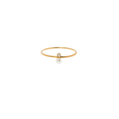 Elegant Pearl Ring -  -