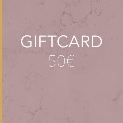 Gift Card 50€ -  -