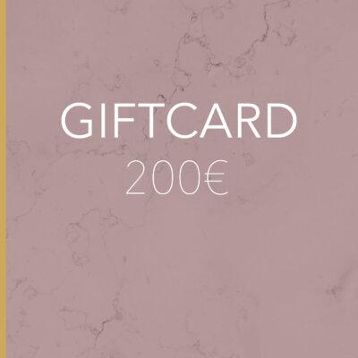 Gift Card 200€ -  -